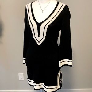 Heavy fabric tunic from Caché Boutique.